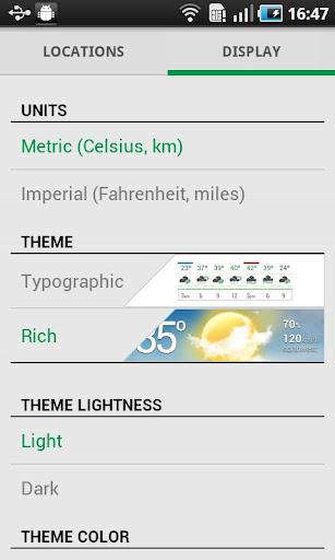 ������ ������� ������ Weather Flow v1.1