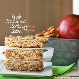 Cinnamon Apple Cookie Bars