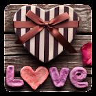 Amor Corazones Fondo Animado icon
