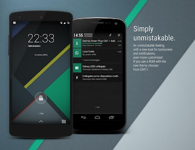 Atomic Green CM11 CM12 Theme v1.80