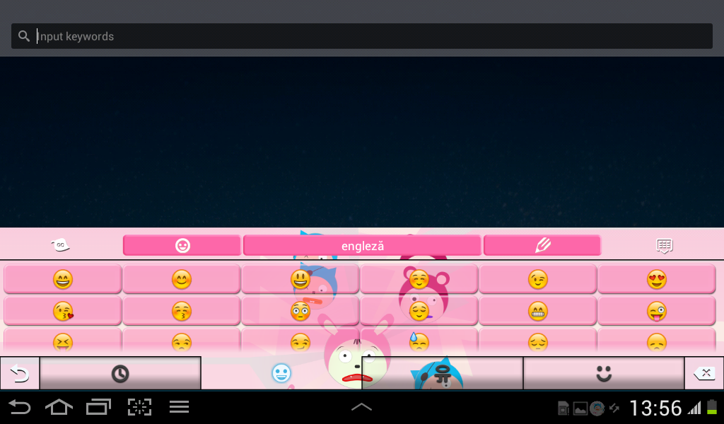 Keyboard Theme Anime - screenshot