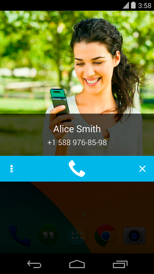 Call Confirm PRO- screenshot