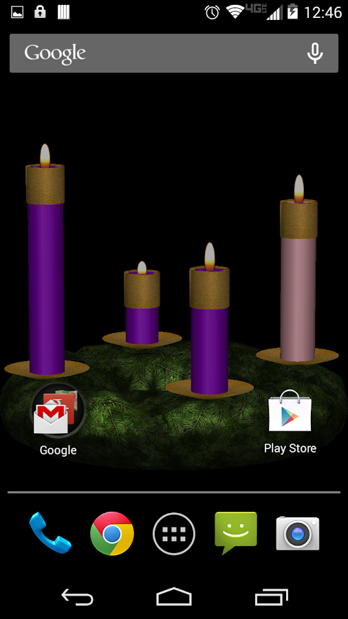 Advent Wreath Live - screenshot