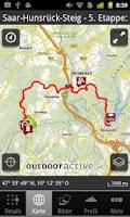Screenshot of Saarland: Touren - App