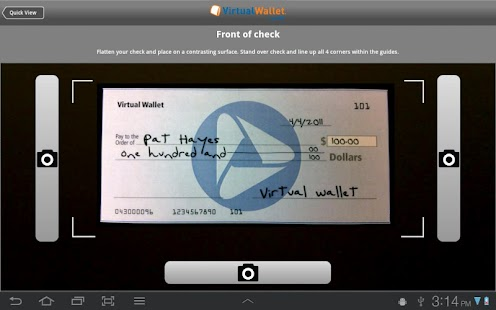 Virtual Wallet tablet by PNC - screenshot thumbnail