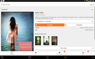 Screenshot of Bibliotheek Wise