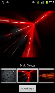 Verizon DROID Wallpapers- screenshot thumbnail
