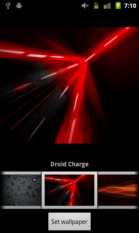 Verizon DROID Wallpapers - screenshot