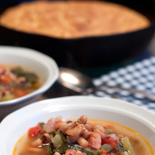 Creole Black Eyed Pea Soup