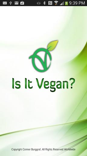 Is It Vegan