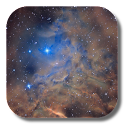 Galaxy Nebula Live Wallpaper icon