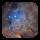 Galaxy Nebula Live Wallpaper icon