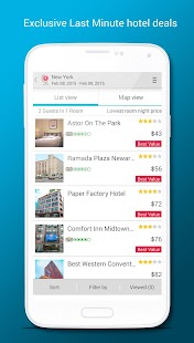 Last MinuteTravel Deals- screenshot thumbnail