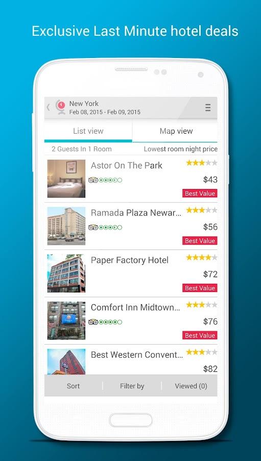 Last Minute Travel Deals - screenshot