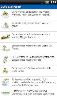 DLRG Baderegeln- screenshot thumbnail