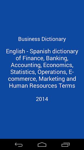Business Dictionary En-Es