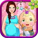 Pregnant Mommy Maternity Games icon