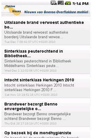 FlakkeeNieuws App- screenshot