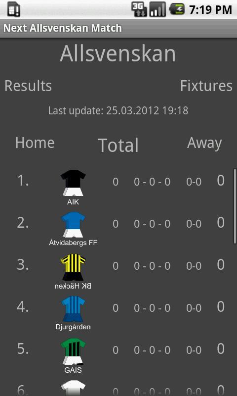 Next Allsvenskan Match 2013- screenshot