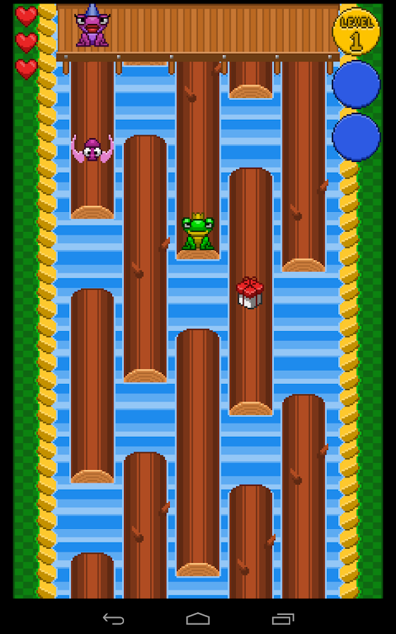 Hat Frog- screenshot
