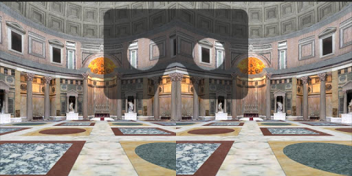 Roman Pantheon Cardboard