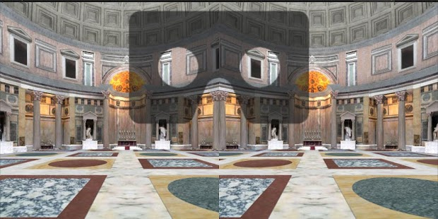 Roman Pantheon Cardboard Screenshot