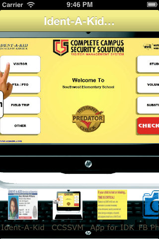 Ident-A-Kid Campus Security