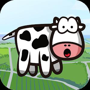 Flappy Cow vs Aliens