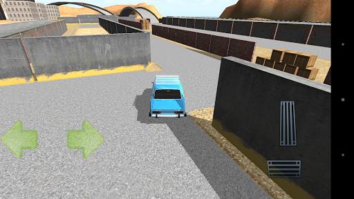 Lada 2106 Driving
