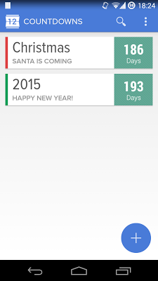Holo Countdown Free - screenshot