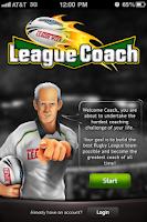 Screenshot of RLW League Coach