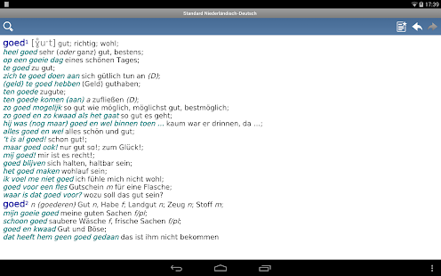 Dutch - German Translator Dictionary Standard- screenshot thumbnail