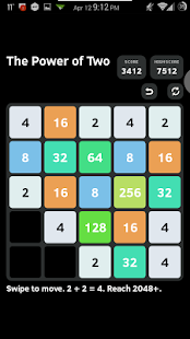 The Power of Two 2048