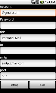 PerMail - screenshot thumbnail