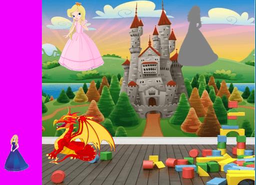 無料个人化Appのお姫様幼児パズル|記事Game