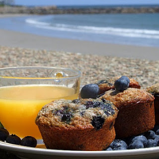 Blueberry- Oatmeal Muffins.