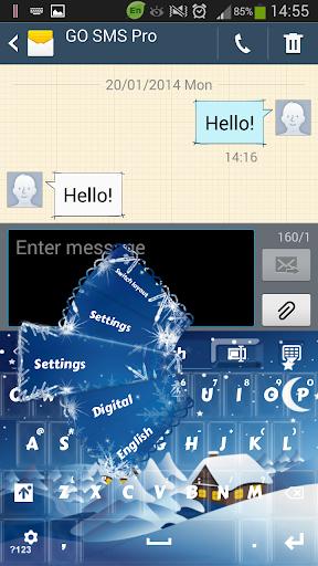 【免費個人化App】冬季键盘-APP點子