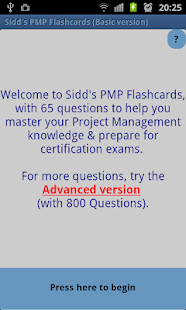 Sidd's PMP Flashcards Basic