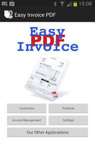 Easy Invoice PDF