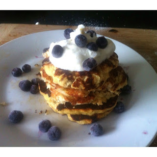 Three Ingredient Pancakes.