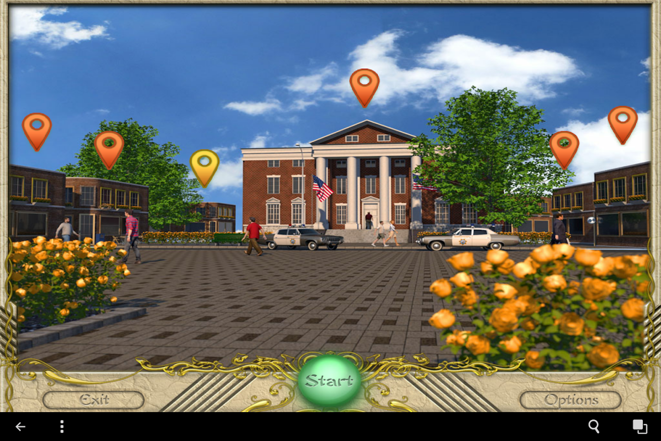 FlipPix Art - Town Square- screenshot