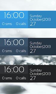 Pure Flat Clock for UCCW - screenshot thumbnail