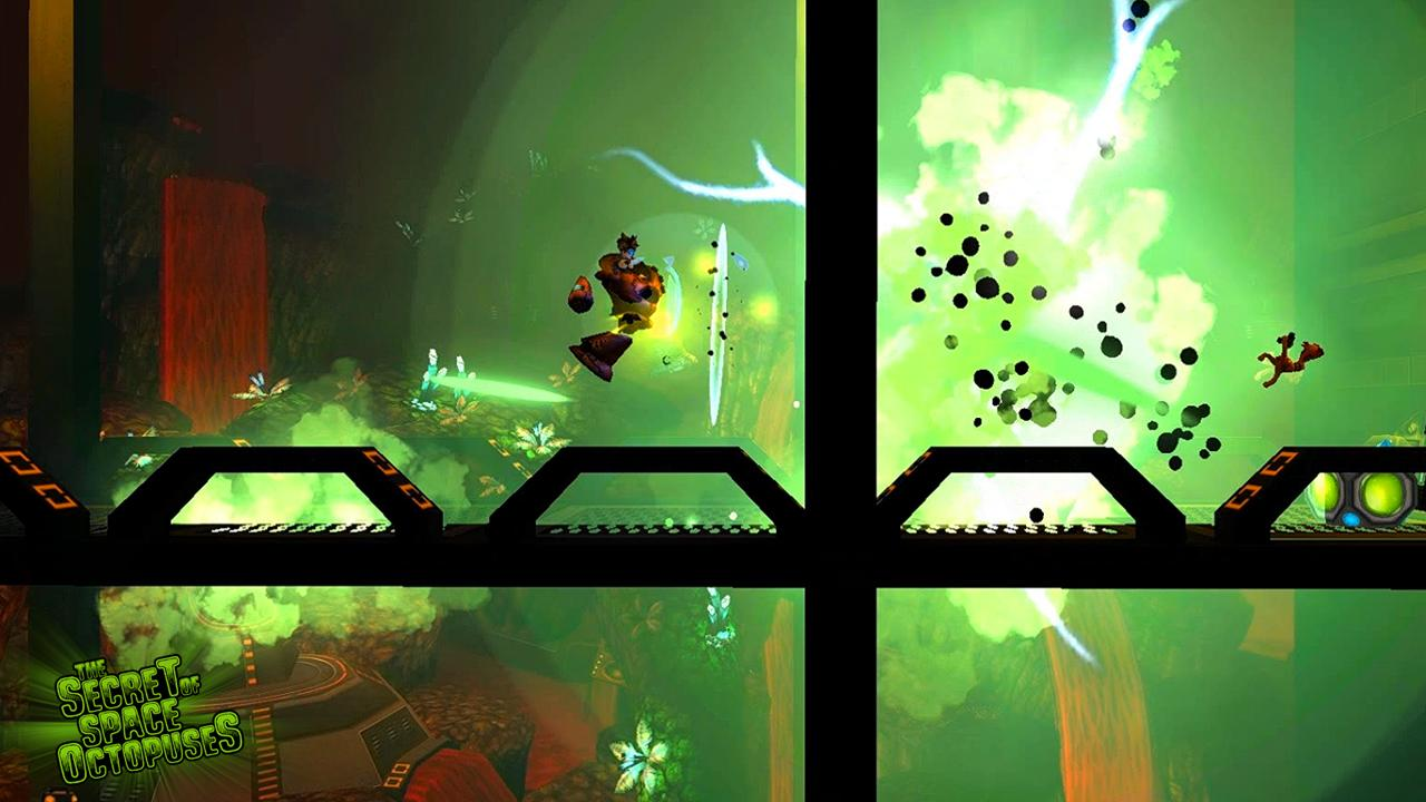 The Secret Of Space Octopuses - screenshot