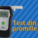 Test din promille logo