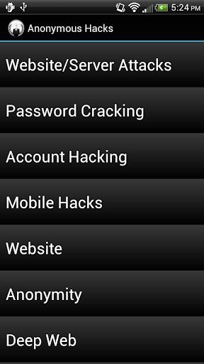 玩免費書籍APP|下載Anonymous Hacks app不用錢|硬是要APP