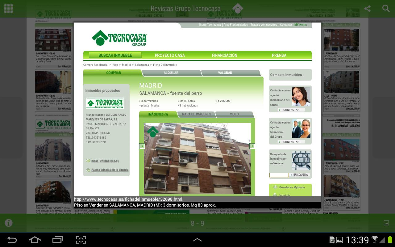 Revistas Grupo Tecnocasa - screenshot