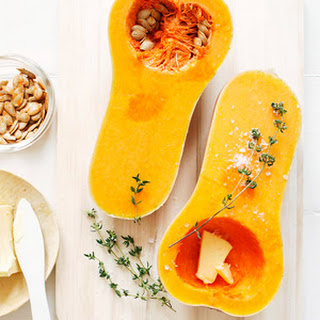 Baked Butternut Squash with Thyme