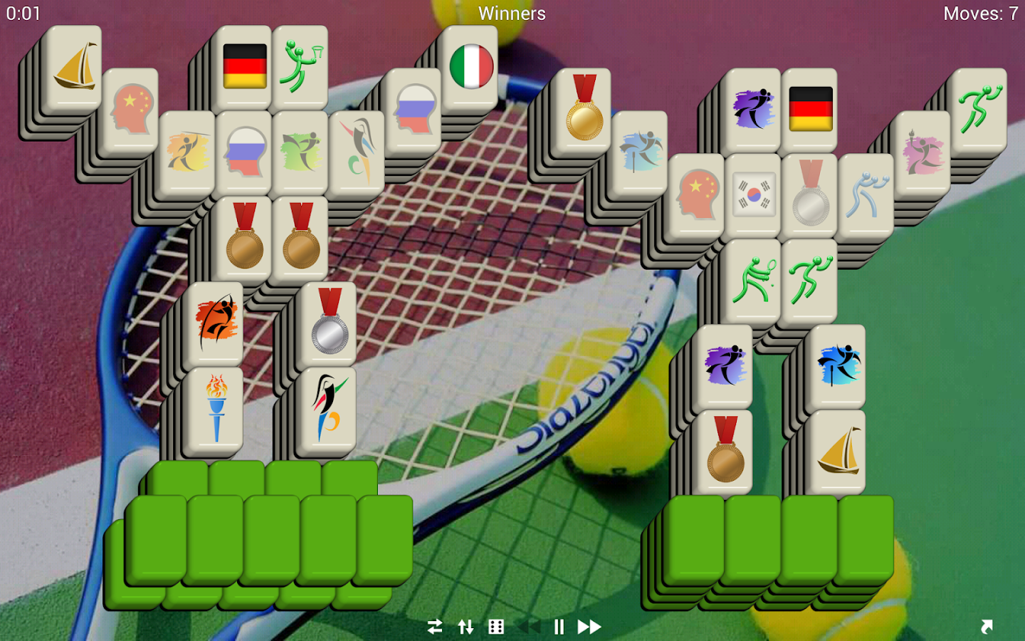 Mahjong Sports - Free - screenshot