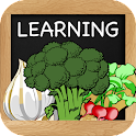 Learn Vegetables for Kids icon