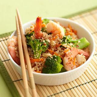No-Fry Shrimp Stir-Fry.
